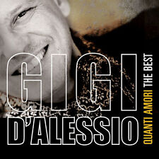 GIGI D'ALESSIO - QUANTI AMORI THE BEST - 3CD SIGILLATO 2016 - 36 TRACKS