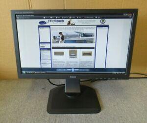 "Iiyama Prolite B2083HSD-B1 PL2083H 19.5"" LCD TFT LED Widescreen Monitor VGA DVI"