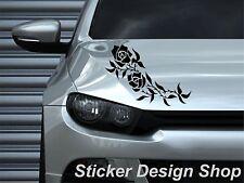 Blumen Ranke Autoaufkleber Heckscheibe Motorhaube Aufkleber Sticker Tuning M1a
