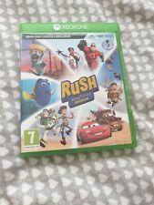 Rush - A Disney / Pixar Adventure Microsoft Xbox One Kids Game FREE P&P