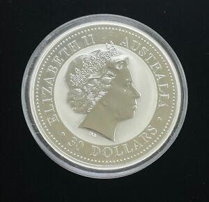2009 Australia 1 kilo Silver Kookaburra Coin