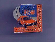 pin's -  pins - tres joli pins GMF assurance auto integrale - tres bon etat -