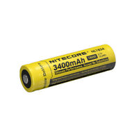 NITECORE NL1834 (NL189) Protected 3400mAh 18650 Rechargeable Battery