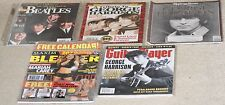 George Harrison/The Beatles 5 magazine lot.Rolling Stone.Guitar Player,Blender..