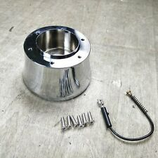 6 Hole to 3/4-36 Spline Billet Steering Wheel Hub Adapter GM Chevy Cadillac C10