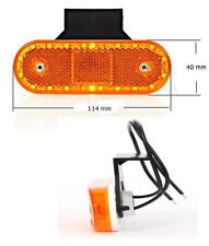 LED Umrissleuchte Positionsleuchte Begrenzungsleuchte Gelb + Rückstr 12/24V 534Z