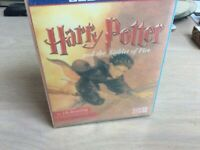 Harry Potter and the Goblet of fire audio book Cassette  Part 1 & 2