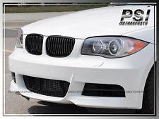 2008-2013 BMW E82 E88 All 1-Series P-Type Gloss Black Front Grille Replacement