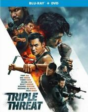 TRIPLE THREAT (Tony Jaa) (BLU RAY) Region free