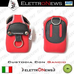 Custodia,Fodero Universale A Sacchetto Small Per MP3-MP4 Rosso