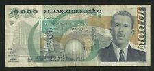 Mexique : 10000 Pesos 1989
