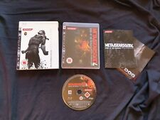 METAL GEAR SOLID 4 GUNS OF THE PATRIOTS Sony Playstation 3 Game PS3 RARE SLEEVE