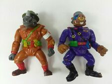 1992 TMNT Vintage Dimwit Doughboy Rocksteady Private Porknose Bebop Ninja Turtle