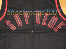 Supreme Sleeveless Baseball shirt Jersey Large Black Blazer Box Logo Arc