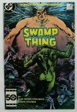 Swamp Thing # 38 2nd Appearance of John Constantine DC 1985 Alan Moore