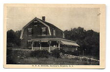 Barbour's Heights RI G.F.S. House Postcard c1915