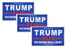 2020 Donald Trump Flag No More BS Make America Great Again U.S.USA 3x5 ft 3PCS