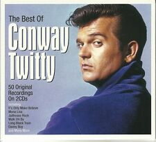THE BEST OF CONWAY TWITTY - 2 CD BOX SET - MONA LISA, DANNY BOY & MORE