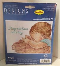 Janlynn Counted Cross Stitch Pray without Ceasing #024-0030-W 11 x 8  2004