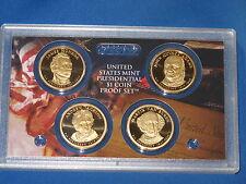 2008-S Presidential Dollar Four Coin Gem Proof Set
