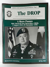 """""""GREEN BERET"""" THE DROP MAGAZINE, SPRING 1999 ISSUE, SPECIAL FORCES ASSOCIATION"""