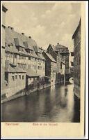 Hannover Niedersachsen Postkarte ~1920/30 Blick in die Altstadt ungelaufen