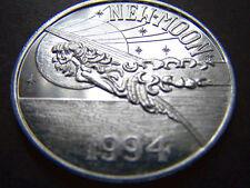 1994 Babylon New Moon Plain Aluminum Mardi Gras Doubloon