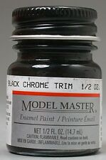 Testors Model Master Black Chrome Tirm Enamel Paint 2735