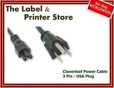 New Cloverleaf Power Cable Cord Lead  - USA Plug 3 Pin - US C5