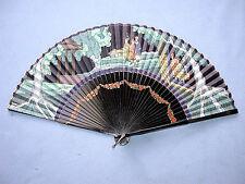 Beautiful Vintage Chinese Scene Hand Fan