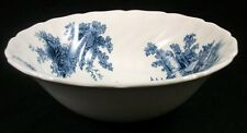 "Johnson Brothers THE OLD MILL BLUE Round Vegetable Bowl 8 1/4"" diameter A+"