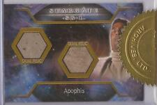 "Stargate SG-1 Season 8 - ""Apophis"" Dual Costume Case Card"