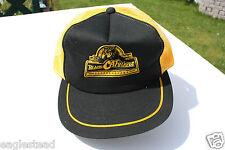 Ball Cap Hat - Black Cat Blades - Dozer Tractor Scraper Edmonton Wear (H960)