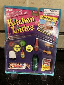 NEW 1995 TYCO kitchen littles picnic set