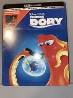 New! Finding Dory Steelbook Edition 4K Ultra HD + Blu-ray + Digital sealed Rare