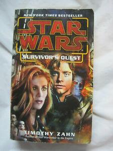 Vintage 2005~Star Wars Survivor's Quest by Timothy Zahn~LBDPA