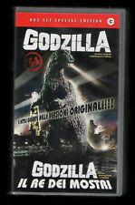 GODZILLA box set 2VHS special ed.IL RE DEI MOSTRI in ITALIANO ishiro honda1954/6