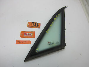 RIGHT REAR QUARTER GLASS WINDOW SIDE 95-98 AUDI A6 S6 SEDAN PASSENGER RR R RH OE