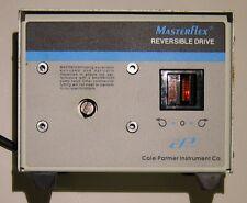 Cole-Parmer Masterflex Reversible Drive 77000-10 6 rpm speed peristaltic pump