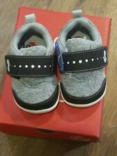 New Smaller by See Kai Run,Ryder Inf black early walkers shoes,inf. 3,NIB