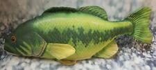 "Fish Toy Large Big 25"" Green Yellow - B119"