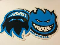 Spitfire, Skateboard Sticker, Street Series, Dual Face Twin, Part# 12109619