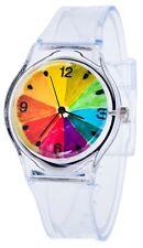 PlumTone Girls' Analog Quartz Clear Resin Watch 100109