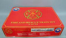 LIONEL O GA. #6-31715 FIRE AND RESCUE TRAIN SET