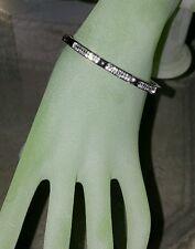 Diamonique Platinum Clad Studded Accent Bracelet