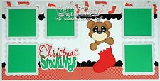 Scrapbook Layout Page Kit Christmas Stockings Paper Piecing PKEmporium 65