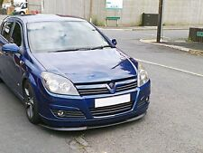 Vauxhall Opel Astra H MK5 5 Front Bumper Cup Chin Spoiler Lip Splitter Valance