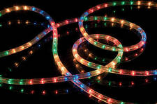 multicolour rope light 10 metre indoor outdoor christmas functions static flash
