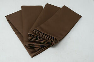 "Jubilee Napkins  in Chocolate 18"" x 18"" Set of 4"