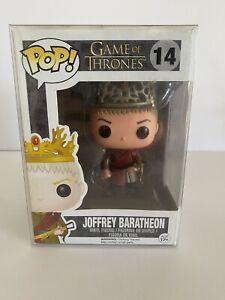 Funko Pop Game of Thrones  JOFFREY BARATHEON #14 Vinyl Figure! Vaulted